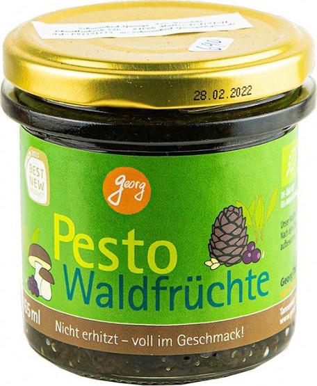 Georg BIO Pesto Bärlauch mit Waldfrüchte