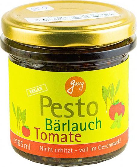 Georg BIO Pesto Bärlauch mit Tomaten