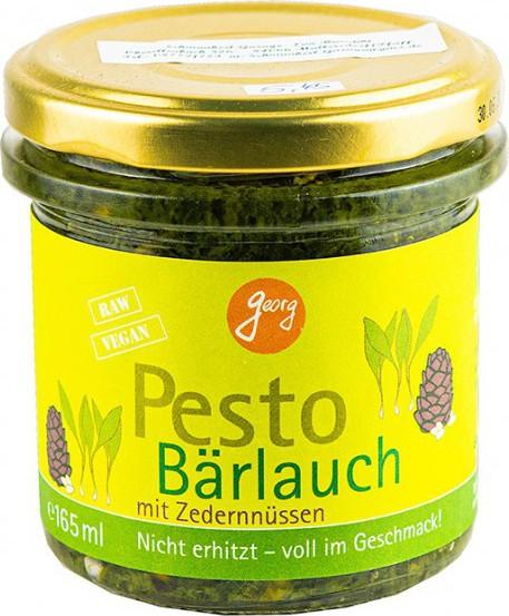Georg BIO Pesto Bärlauch mit Zedernnüssen