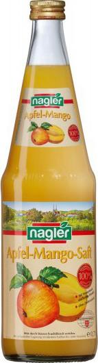 Nagler Apfel-Mango Saft 100%