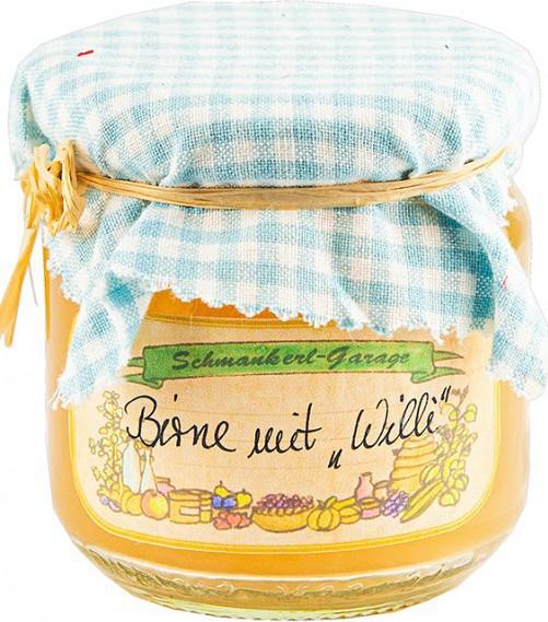 """Schmankerl-Garage Birne mit Willi """"Marmalad"""""""