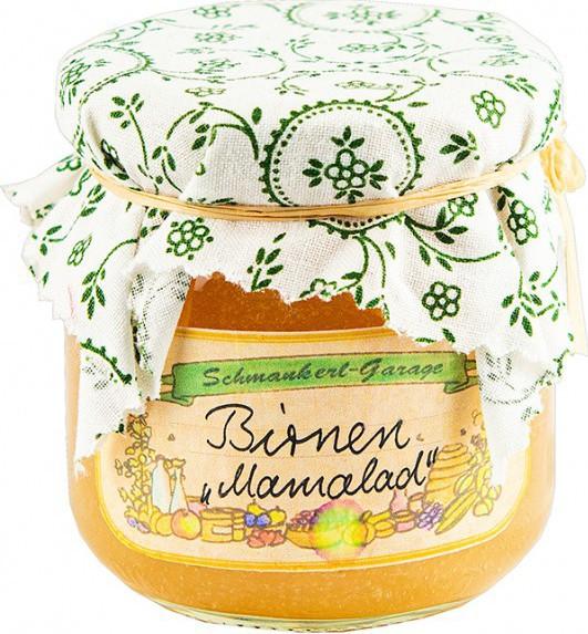 """Schmankerl-Garage Birnen """"Marmalad"""""""