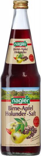 Nagler Birne-Apfel-Holunder-Saft 100%