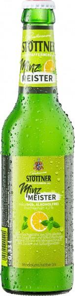 "Stöttner Minz Meister naturtrüb ""Alkoholfrei"""